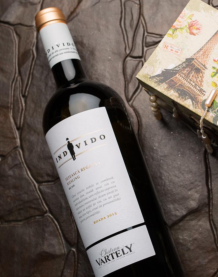 Moldavische wijn Individo Feteasca Regala & Riesling Aspergewijn 2017